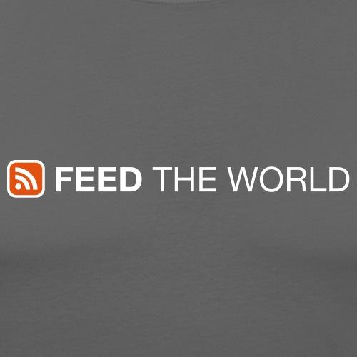 feedtheworld - Männer Slim Fit T-Shirt