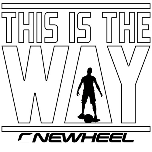 This Is The White Way - Herre Slim Fit T-Shirt
