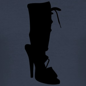 Vector highheels Silhouet - slim fit T-shirt