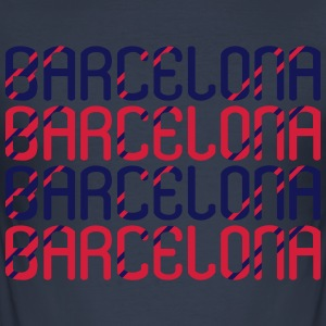 Barcelona - Slim Fit T-shirt herr