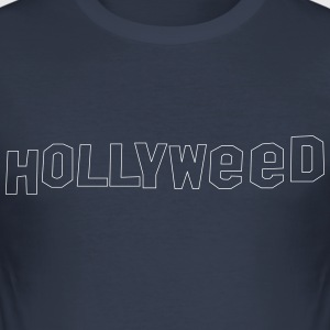 Hollyweed shirt - Herre Slim Fit T-Shirt