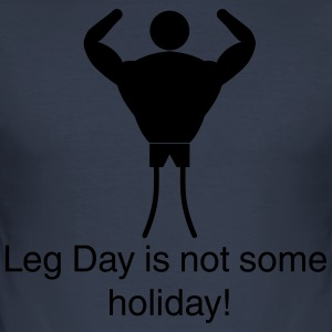 Leg Day - Slim Fit T-skjorte for menn