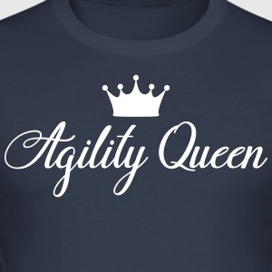 AGILITY QUEEN - slim fit T-shirt
