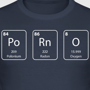 Porn periodic table element - Men's Slim Fit T-Shirt