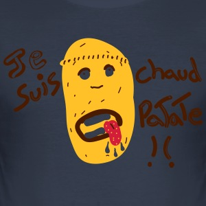 Potato - Men's Slim Fit T-Shirt