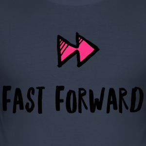 Fast Forward - Men's Slim Fit T-Shirt