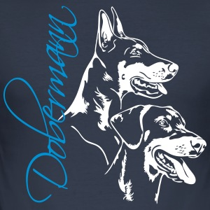 Doberman - Dobermann - Slim Fit T-skjorte for menn
