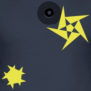 Stars and rotations - Men's Slim Fit T-Shirt