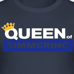 Queen of Simmering - Men's Slim Fit T-Shirt