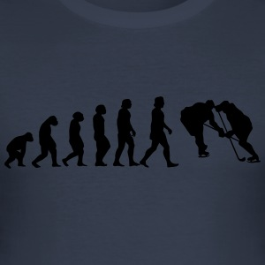 evolusjon hockey - Slim Fit T-skjorte for menn