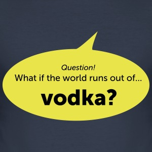 Wodka - Männer Slim Fit T-Shirt