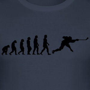 evolution hockey - Men's Slim Fit T-Shirt