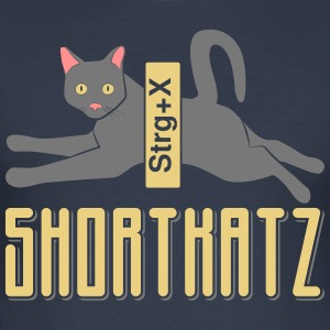 Shortkatz - Männer Slim Fit T-Shirt