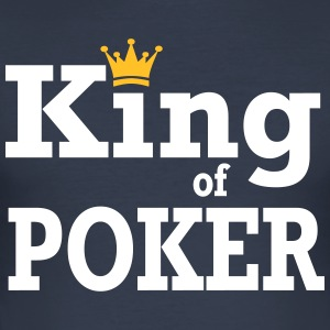 King of Poker - Men's Slim Fit T-Shirt