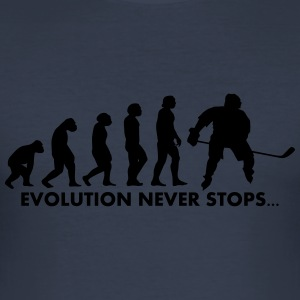 evolution never stops - Männer Slim Fit T-Shirt