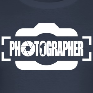PHOTOGRAPHER - Men's Slim Fit T-Shirt