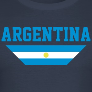 Argentinië - slim fit T-shirt