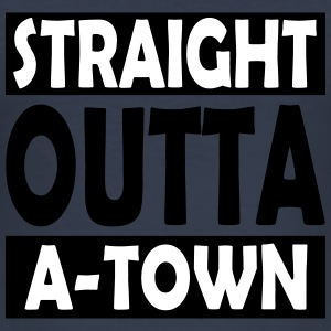 Straight Outta A-Town - Men's Slim Fit T-Shirt