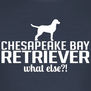CHESAPEAKE BAY RETRIEVER what else - Männer Slim Fit T-Shirt
