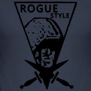 Rogue Style Vintage - Männer Slim Fit T-Shirt