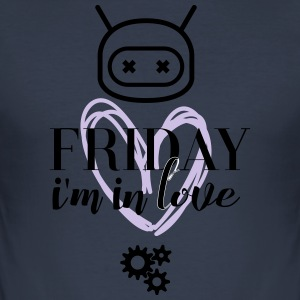 Friday i'm in love - Men's Slim Fit T-Shirt
