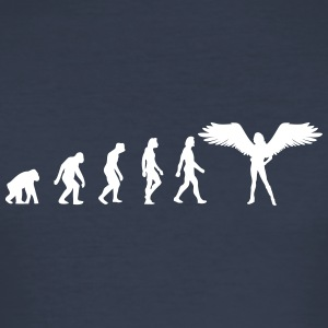 Die Evolution der Engel - Männer Slim Fit T-Shirt
