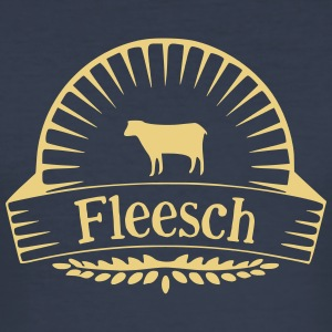 Fleesch - Männer Slim Fit T-Shirt