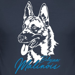 Belgian Malinois - Männer Slim Fit T-Shirt