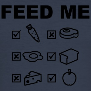 Feed Me Vegan - slim fit T-shirt