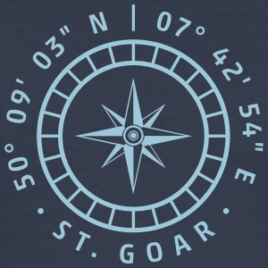 Compass St. Goar - Slim Fit T-skjorte for menn