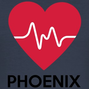 heart Phoenix - Men's Slim Fit T-Shirt