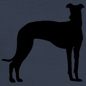 Galgo silhouette - Men's Slim Fit T-Shirt