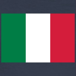 Nationalflagge von Italien - Männer Slim Fit T-Shirt