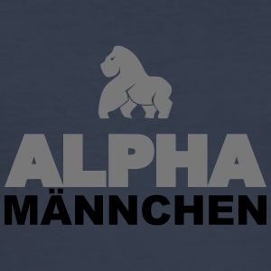Alpha - Männer Slim Fit T-Shirt