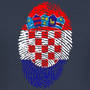 CROATIA 4 EVER COLLECTION - Männer Slim Fit T-Shirt