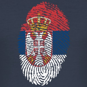 SERBIA 4 EVER COLLECTION - Männer Slim Fit T-Shirt