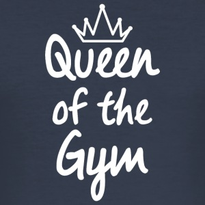 Queen of the Gym - Men's Slim Fit T-Shirt