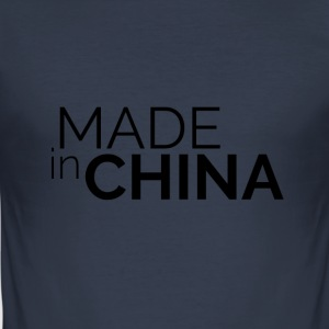 Made In China - Herre Slim Fit T-Shirt