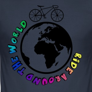 Ride Around The World - slim fit T-shirt