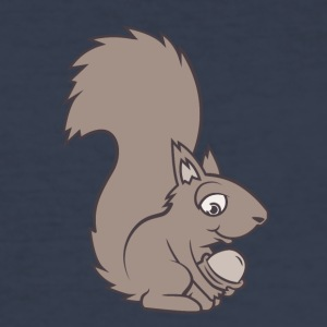 A squirrel - Men's Slim Fit T-Shirt