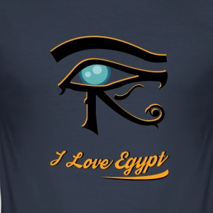 i love Egypt 1 - Männer Slim Fit T-Shirt