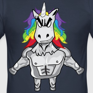 BAD UNICORN COLLECTION - Slim Fit T-shirt herr