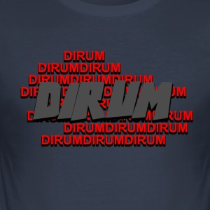 tshirt Dirum - Slim Fit T-shirt herr