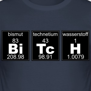 Chemistry BiTcH - Men's Slim Fit T-Shirt