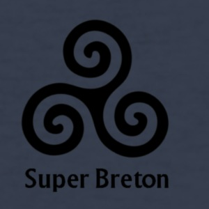 triskel_super_breton - slim fit T-shirt