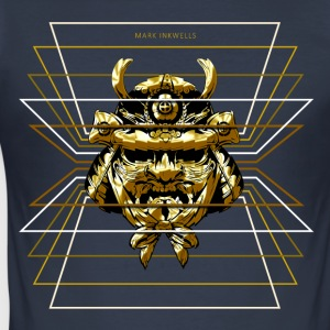 Mark Tintenfaß Gold-Samurai - Männer Slim Fit T-Shirt