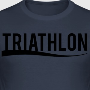 Triathlon - Herre Slim Fit T-Shirt