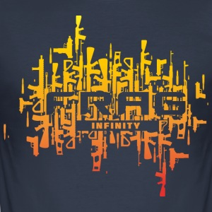Infinity CS Frag Sunset - Männer Slim Fit T-Shirt