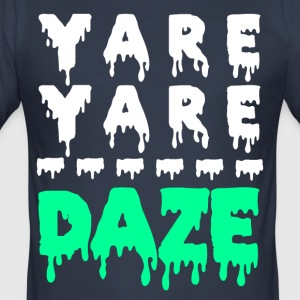 Yare Yare Daze - Slim Fit T-skjorte for menn
