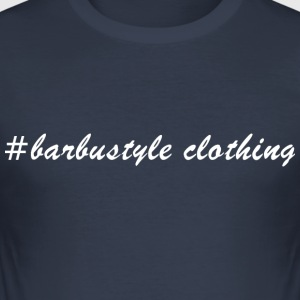 #barbustyle wit - slim fit T-shirt